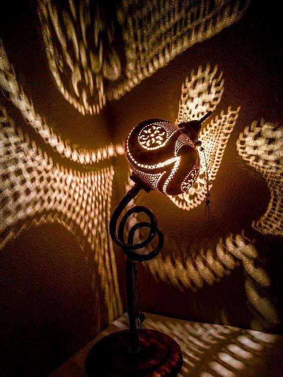 XMAS and Hanukkah Gift Gourd lamps Ottoman Turkish mosaic