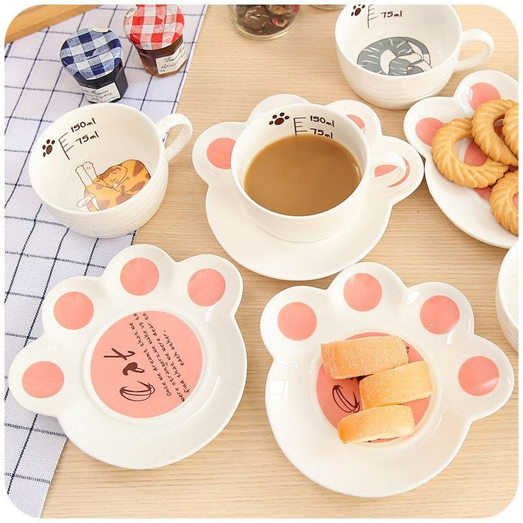 "Kawaii cats coffee cup   Coupon code ""cutekawaii"" for 10% off"