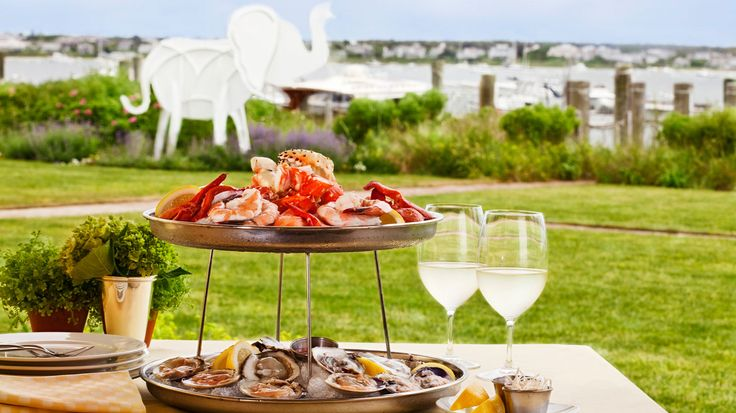 Nantucket Restaurants With Waterfront Dining - White : Elephant: BRUNCH