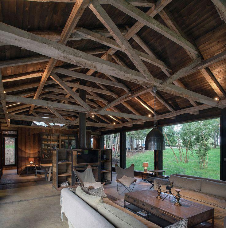 Gallery - Barn House at Lake Ranco / Estudio Valdés Arquitectos - 5