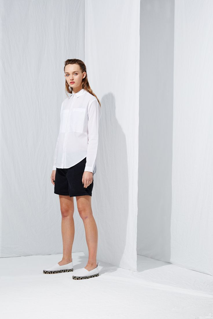 Split Back Shirt from the latest L.W.B. collection by Australian fashion designer LIFEwithBIRD Summer'15