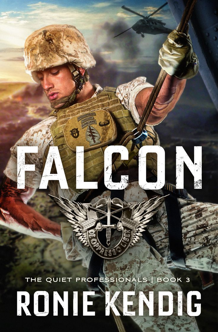 FALCON (May 2015), book 3 of the Quiet Professionals features Marine Sergeant Gabriel Martinez, a double-amputee and Purple Heart recipient! A true, American hero!