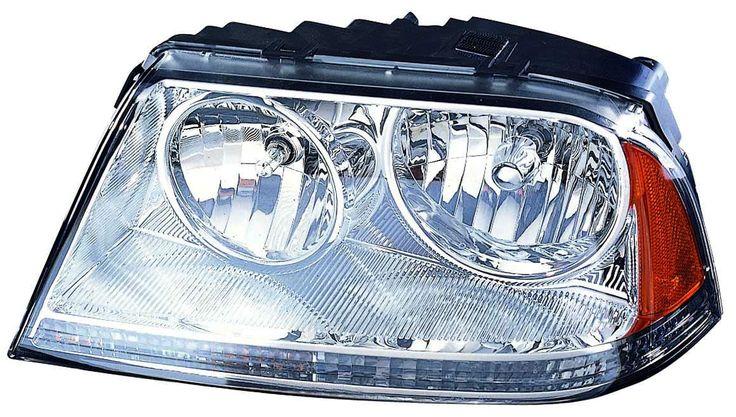 2003-2005 Lincoln Aviator New Passenger Side CAPA Halogen Headlight: HEADLIGHT CAPA AVIATOR 03-05 HL ASY RH… #CarHeadlights #AutoHeadlights