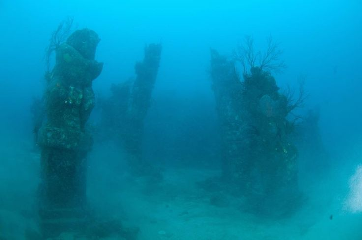 Underwater temple in Pemuteran-north Bali.