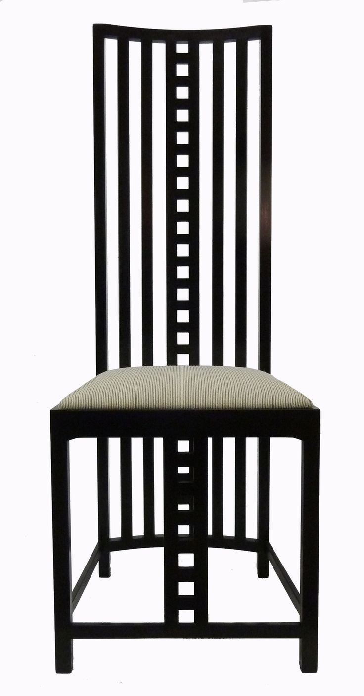 Mackintosh Chair With Tall Seat Back Art Nouveau Pinterest Chairs And Search
