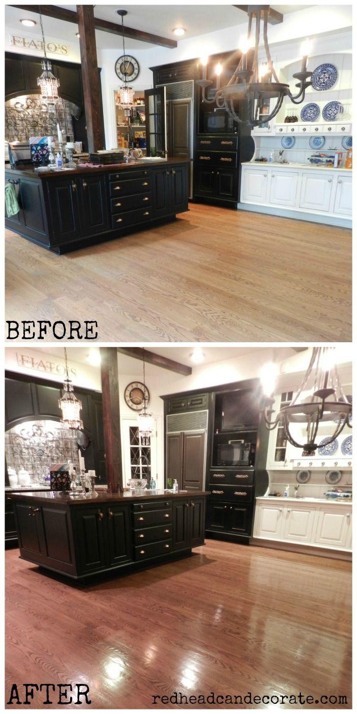 Sandless, No Mess, Affordable Floor Refinishing (yep, for real!)