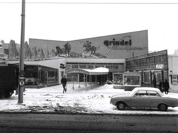 Grindel Kino in Hamburg 1963