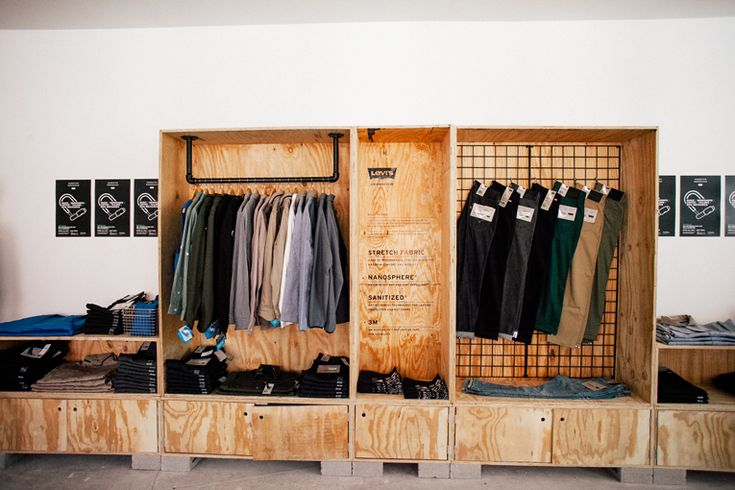 """""""Back to Work for Levis""""at Levi's Commuter Workspace in Williamsburg,NY, pinned by Ton van der Veer"""