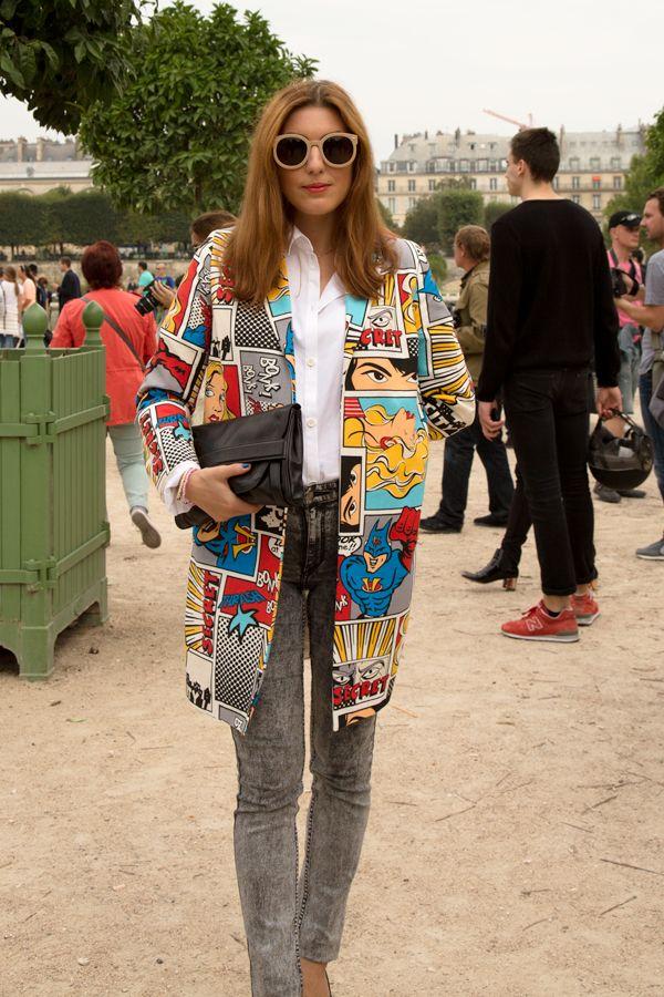 Paris Fashion Week Street Style Roy Lichtenstein #PFW september 2013 Paris Fashion Week Street Style Roy #Lichtenstein  http://trendbubbles.nl/paris-fashion-week-street-style-roy-lichtenstein/  @I saw something nice