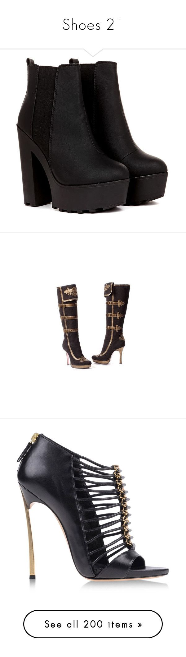 """""""Shoes 21"""" by no-me-juzgues ❤ liked on Polyvore featuring shoes, boots, ankle booties, heels, botas, black, short black boots, heeled booties, black heeled booties and black heeled boots"""