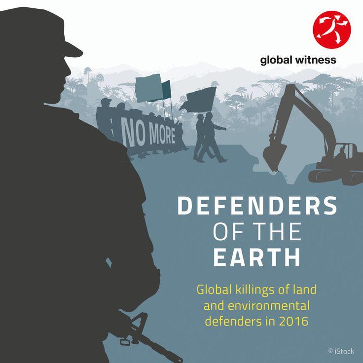 Nunca fue más letal defender la tierra y los bienes comunes, Global Witness, Honduras, Minería, explotación forestal y agroindustria