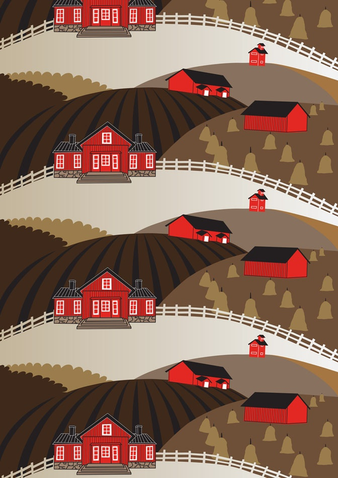 Farmi brown by Elizabeth Salonen