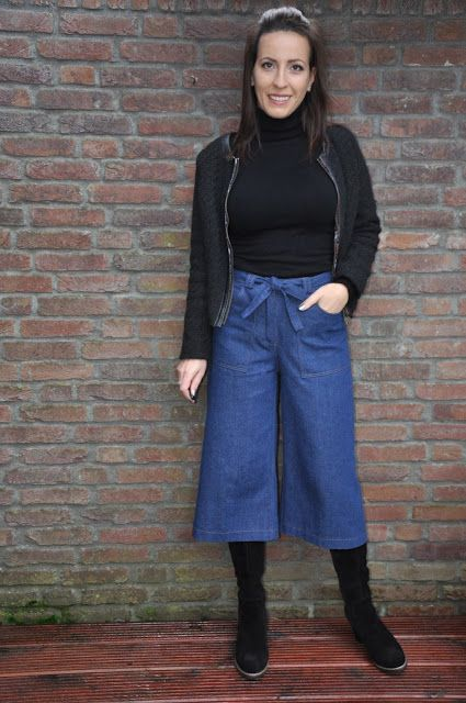 Culotte, a style totally new to me. The new Designer Stitch PDF pattern, the Tanner culotte ( aff) is not something I would choose to ...
