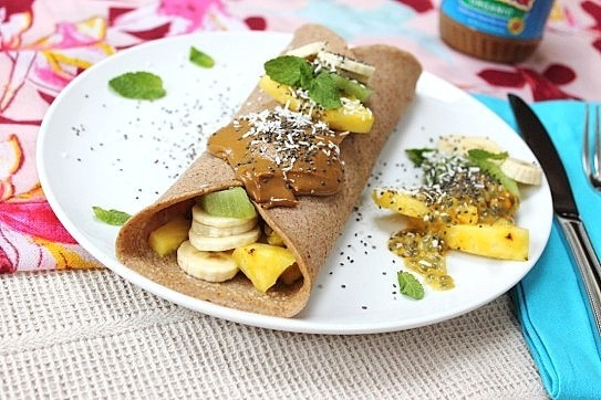 tropical twist to beat the chill - Vegan Gluten Free Tropical ...