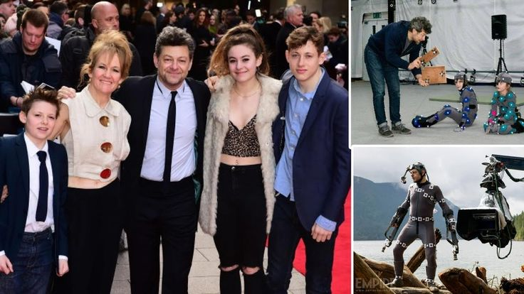 Andy Serkis's Family | Wife Lorraine Ashbourne  | Daughter Ruby Serkis | Sons Sonny  & Louis Serkis Gollum actor Andy Serkis's Family | Wife Lorraine Ashbourne  | Daughter Ruby Serkis | Sons Sonny  Serkis  & Louis George Serkis { war for the planet of the apes }