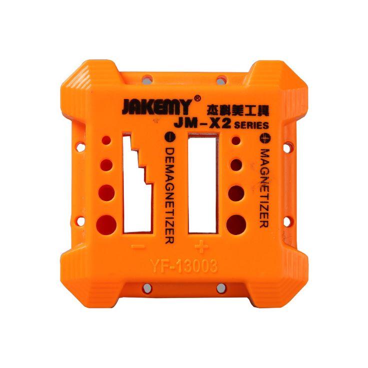 JAKEMY Desmagnetizador Magnetizador JM-X2 para Destornillador de Acero Cuchillas Pinzas Herramientas Manuales de metal