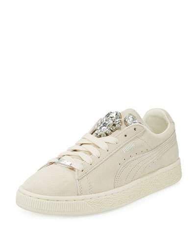 puma basket sneakers jeweled headbands