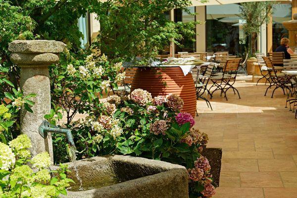 Garten Hotel-Gasthaus Hirschen   Tourismus Untersee