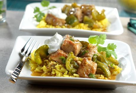 Pork Chile Verde Recipe: This Southwestern-style stew is loaded with tender chunks of pork and a variety of sweet and spicy peppers slowly cooked in a savory mixture of flavor infused broth, green chiles and fresh cilantro. It's a mouthwatering meal that simply can't be beat!