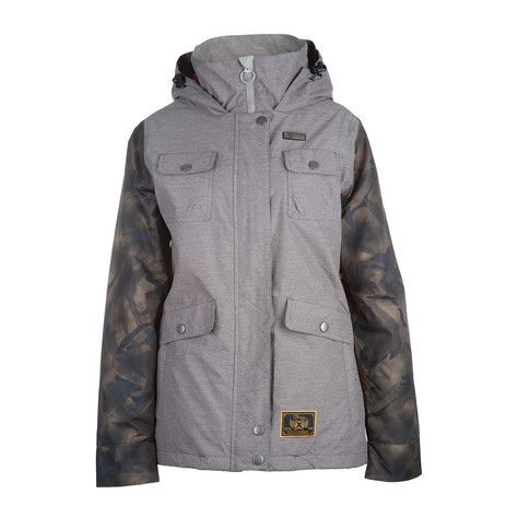 3CS Brunswick Women's Snowboard Jacket - Sage