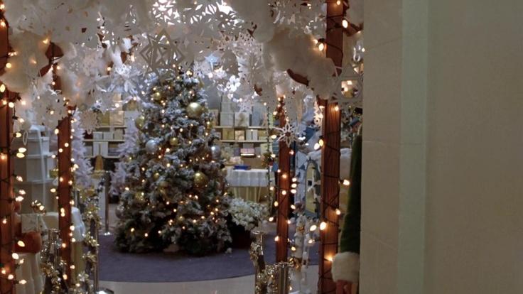 Elf Movie Decorating Scene Step Inside Your Favorite Homes