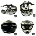 NEW HIGH QUALITY Youth  Kids Helmet for Dirtbike ATV Motocross MX Offroad bike3  UPC - 684812132328, EAN - 0684812132328, Color - Black Flame, Department - unisex-adult, Weight - 2.8 pounds, Dimensions - L 13 x W 10.3 x H 9.5 inches, Label - SmartDealsNow, ProductGroup - Automotive Parts and Accessories, ISBN - Not Applicable