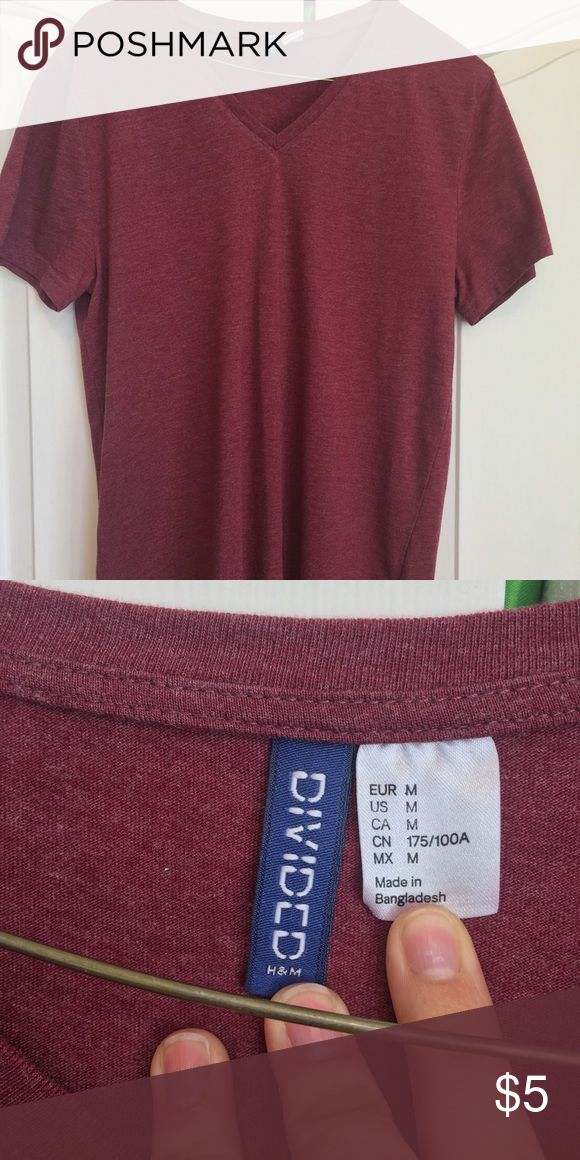 divided h&m shirt