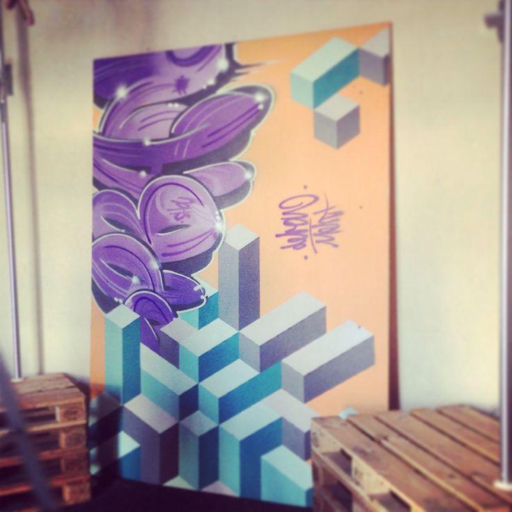Graffiti panel ... Deban+Ment