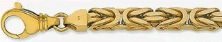 8mm (Bizantina) Byzantine Chain 14 Inches