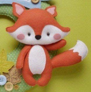 feltro, molde pequeno príncipe, pequeno príncipe em feltro, raposa  Para salvar mais moldes visita o site: www.feltrofacil.com.br