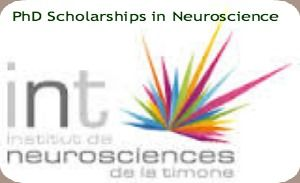 PhD Scholarships in Neuroscience at Aix-Marseille University (AMU) in France , and applications are submitted till 15th June 2014. Aix-Marseille University (AMU) is inviting applications for PhD scholarships in Integrative and Clinical Neurosciences. Three PhD scholarships will be available to excellent master graduates from non-French top ranked universities. - See more at: http://www.scholarshipsbar.com/phd-scholarships-in-neuroscience.html#sthash.YQNQHTdx.dpuf