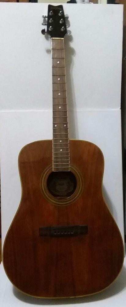 Washburn Acoustic Guitar  D-11 A/N Dreadnought Body For Repair  #Washburn