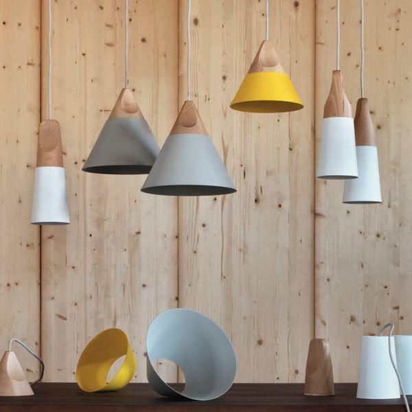 Lampada a sospensione Slope - design Skrivo - Miniforms