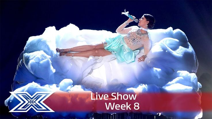 Saara Aalto is on cloud 9 with a diva medley   Live Shows Week 8   The ...