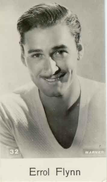 Errol Flynn…. Warner still. – Movies