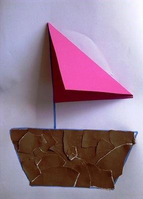 Torn paper craft idea for kids | funnycrafts