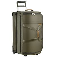 Briggs and Riley luggage.  Lifetime no matter what replacement guarantee speaks for itself.