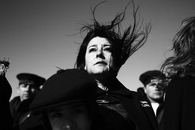 21 de Septiembre de 2012/ PUNTA ARENAS Esta mañana se realizo el homenaje conmemorativo a los 169 años de la toma de posesión del estrecho de Magallanes, en la cual se recreo el desembarco de los colonos en el año 1843. FOTO:JOSE CARVAJAL/AGENCIAUNO