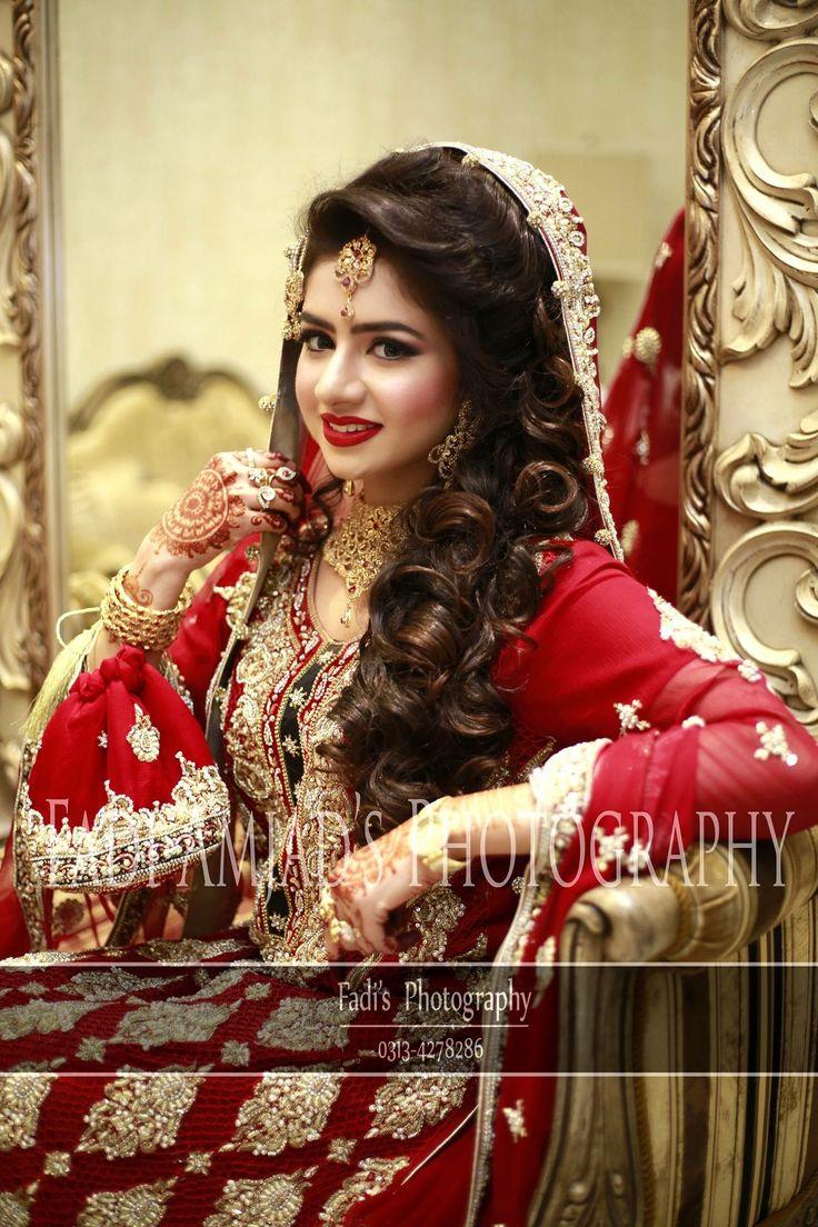 Hair do | Pakistani bridal dresses, Asian wedding dress