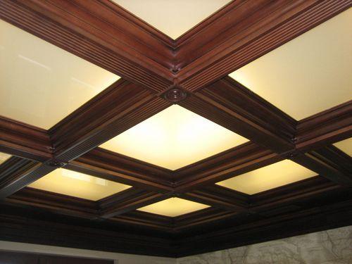 Кессонные потолки из дерева: преимущества, фото, монтаж