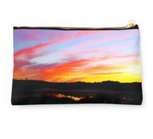 Sunset in the woods Studio Pouch