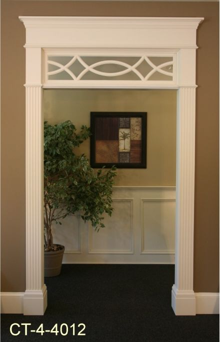 Love this $365 I think it would look nice above french doors going into an office