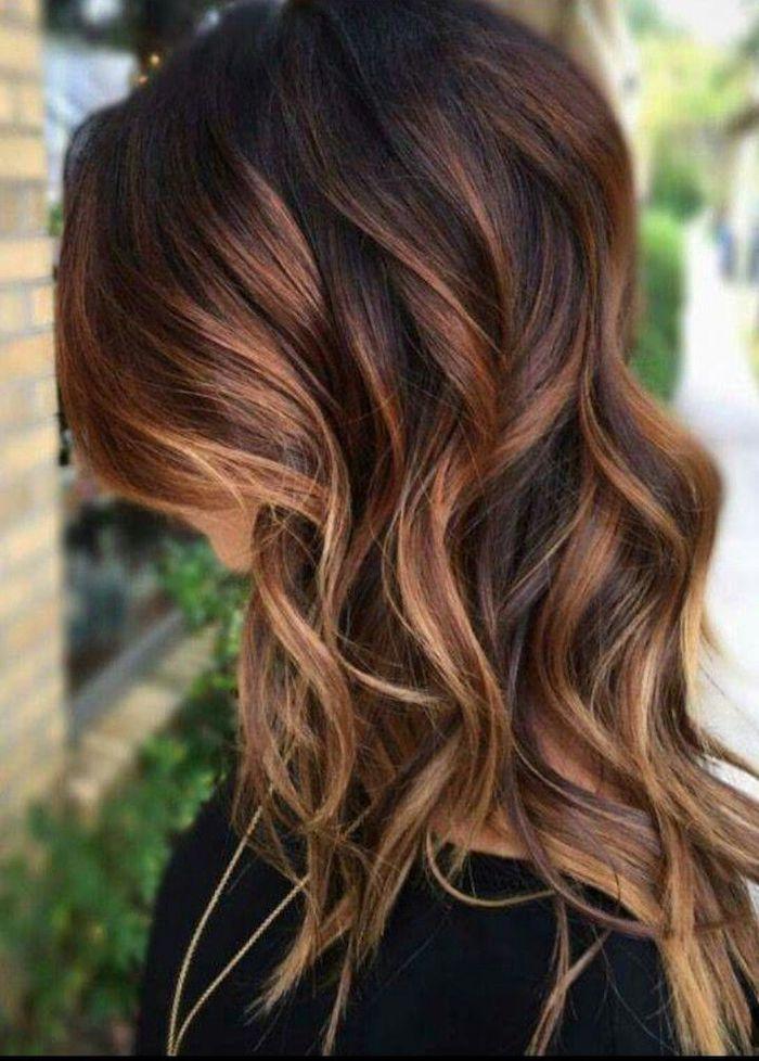 Haare machen highlights selber ▷ Balayage