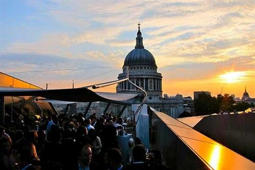 The Madison rooftop bar London