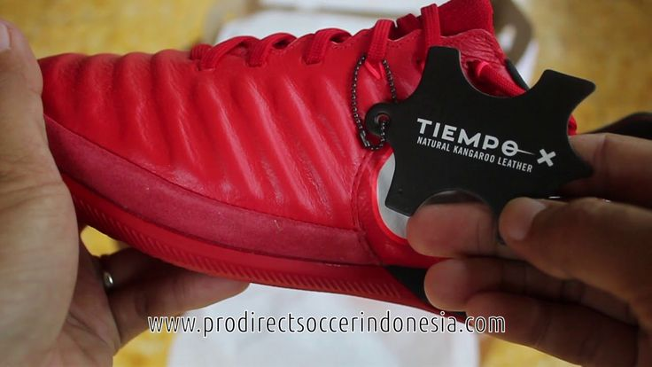 Sepatu Futsal Nike Tiempox Proximo II IC University Red White Black 8977...