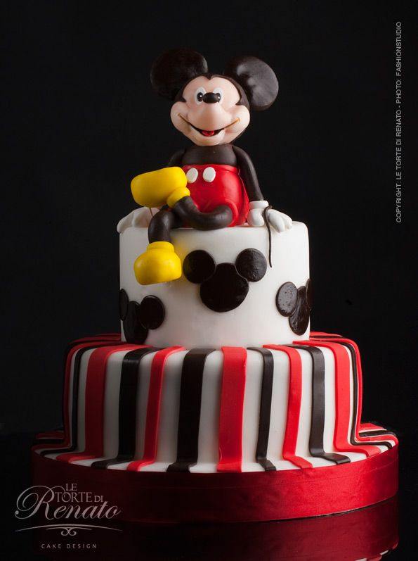 birthday-cake: Mickey Mouse