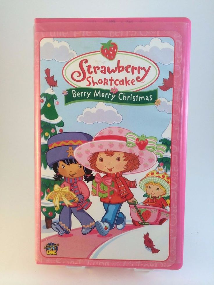 Berry Merry Christmas VHS Animated with Music Video 2003 DIC Entertainment