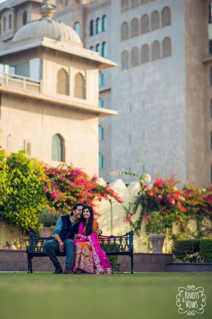 Pre-Wedding Shoot at Le-Meridien, Jaipur. Amandeep + Divya.