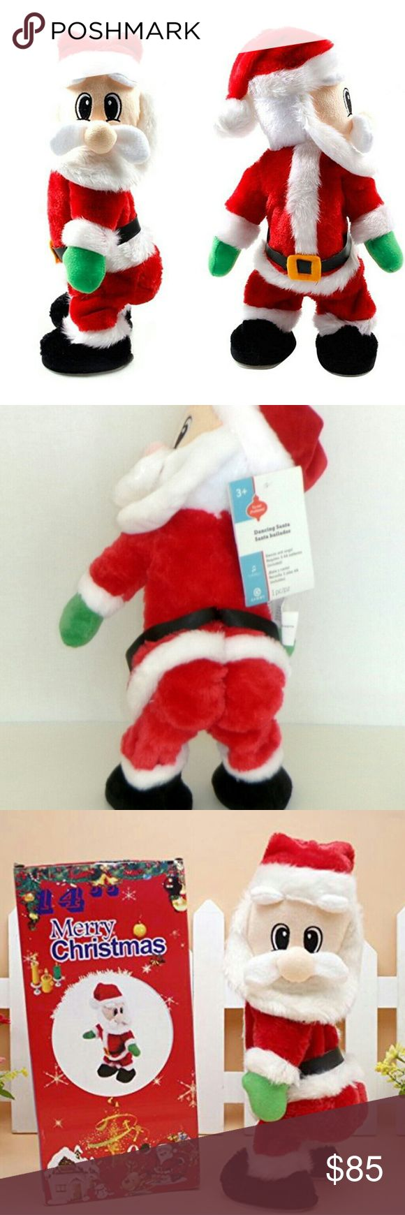 """Gemmy Twerking Dancing Singing FIREBALL Santa New 2018 original GEMMY twerking butt, shaking head Santa!  He sings """"Fireball"""". Penguin is about 15 inches tall.  New, with full size original GEMMY brand tags attached.  Three AA batteries are included.  To get him dancing please, press a button on how left foot right under the embroidered """"G"""" for Gemmy. Recommended age:  from 3 to 88 You can watch the video about him:  https://www.youtube.com/watch?v=Ww7X4RzKdpM Free and fast shipping! Gemmy…"""