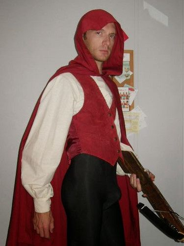 74438eb64 Litte Red Riding Hood | Billy Ferguson's costumes and props | Red riding  hood costume, Red riding hood, Halloween costumes